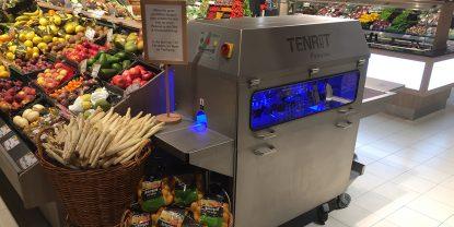 Neu zur Spargelsaison: Spargel schälen mit unserer neuen Spargelschälmaschine